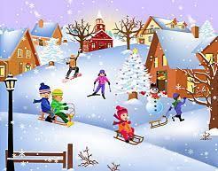 zabawy w zimie